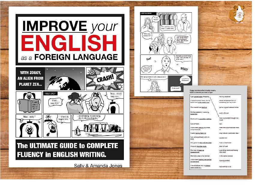 Improve Your English As A Foreign Language: The Ultimate Guide (8 years+) Print Version