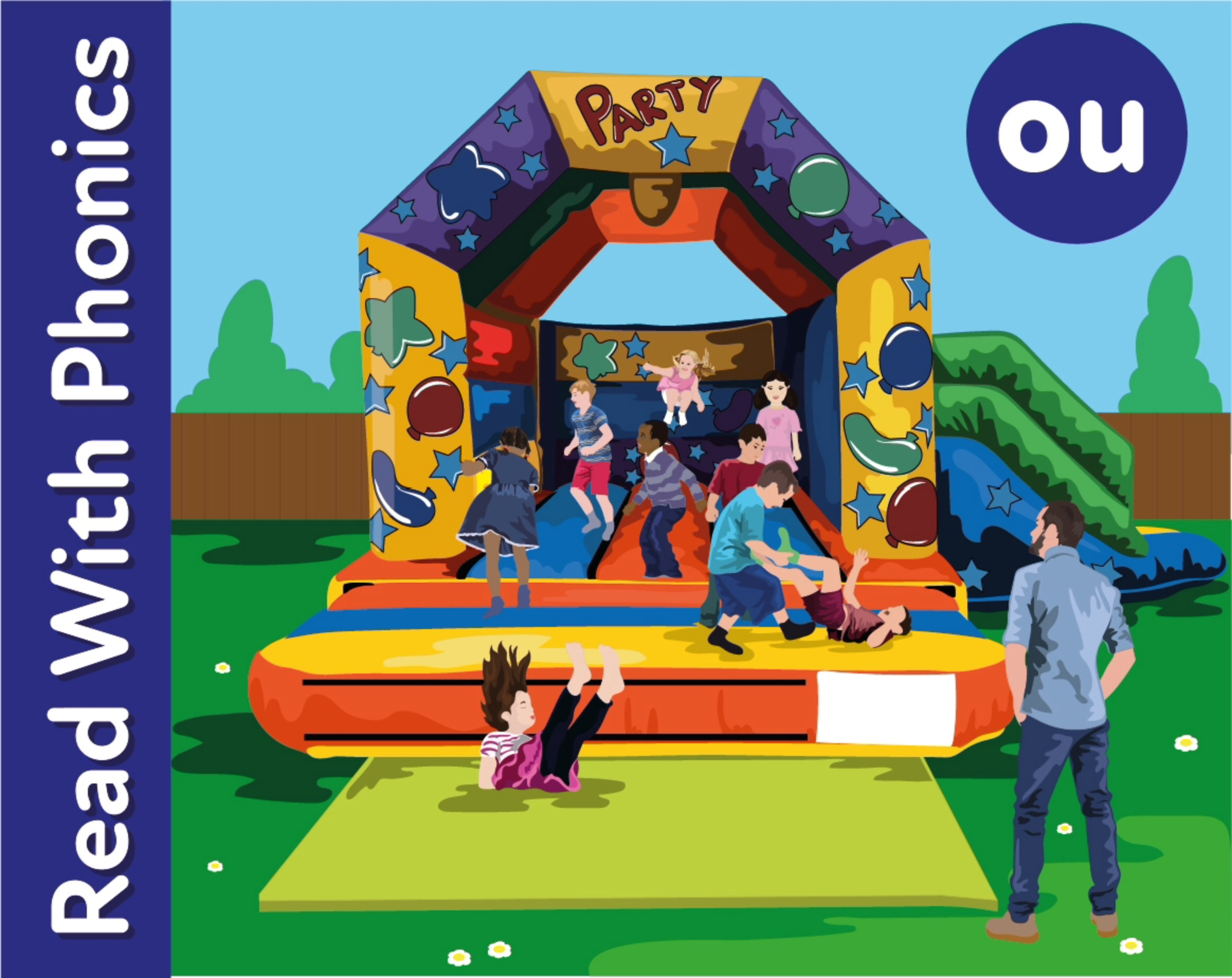 The Bouncy Castle : Learn The Phonic Sound  'ou'