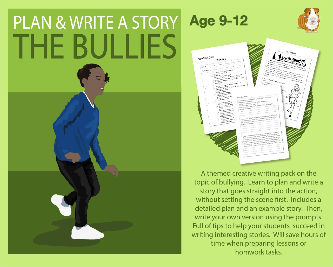 Plan And Write A Story Called 'The Bullies' (9-12 years)
