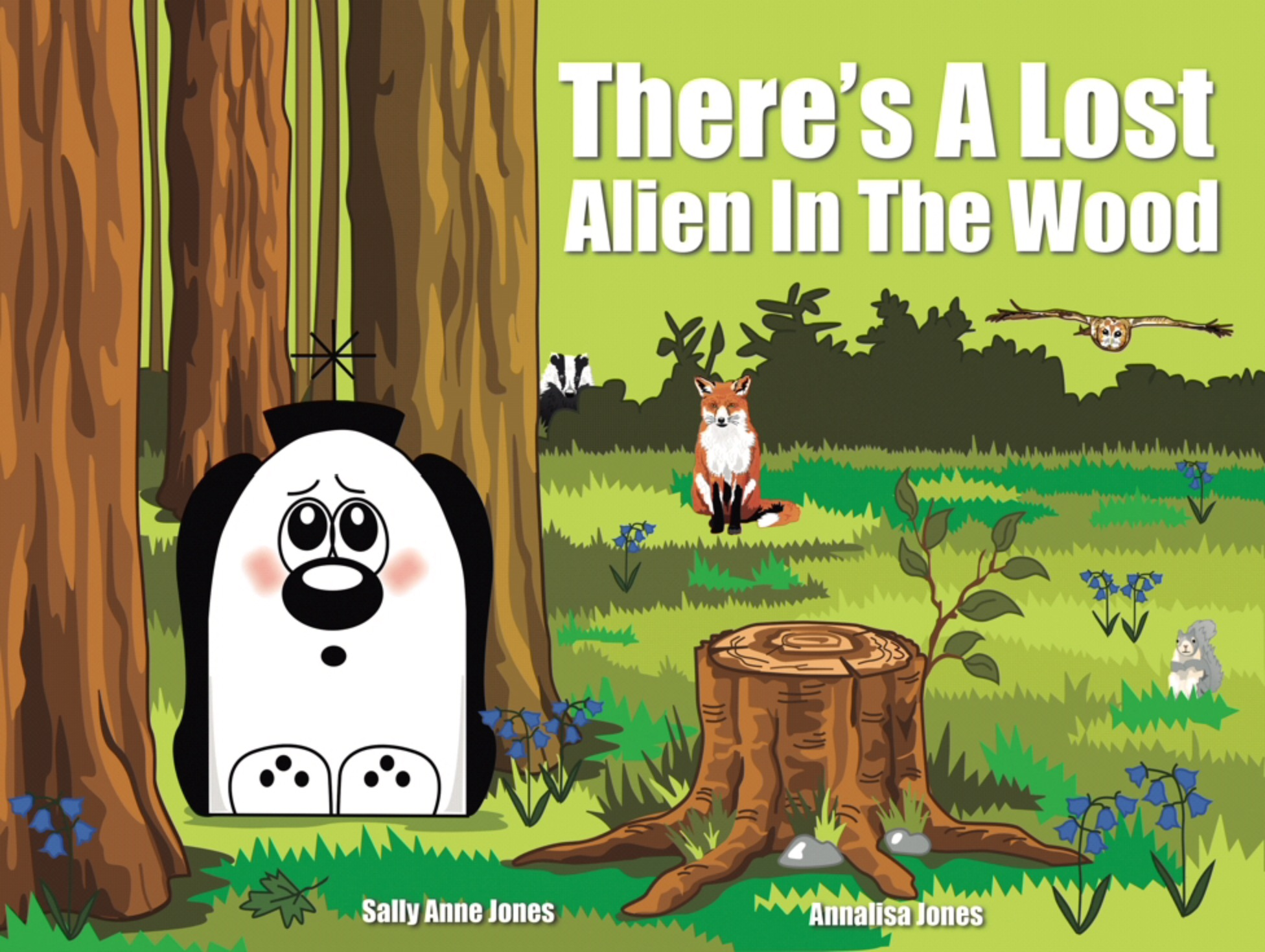 There's A Lost Alien In The Wood E-Book