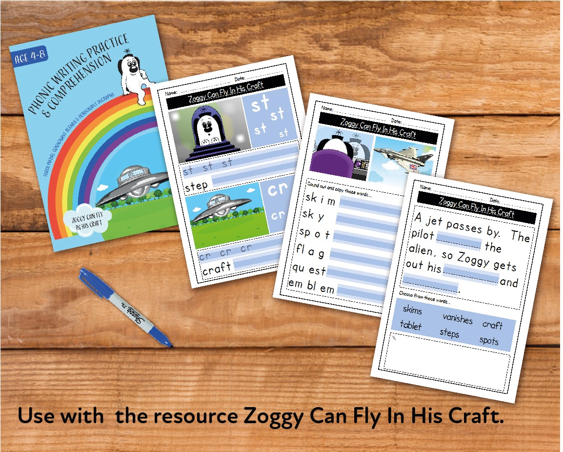 Zoggy Can Fly In His Craft (E-book)
