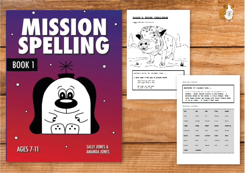 Mission Spelling Book 1: A Crash Course To Succeed In Spelling With Phonics (7-11) Print Version