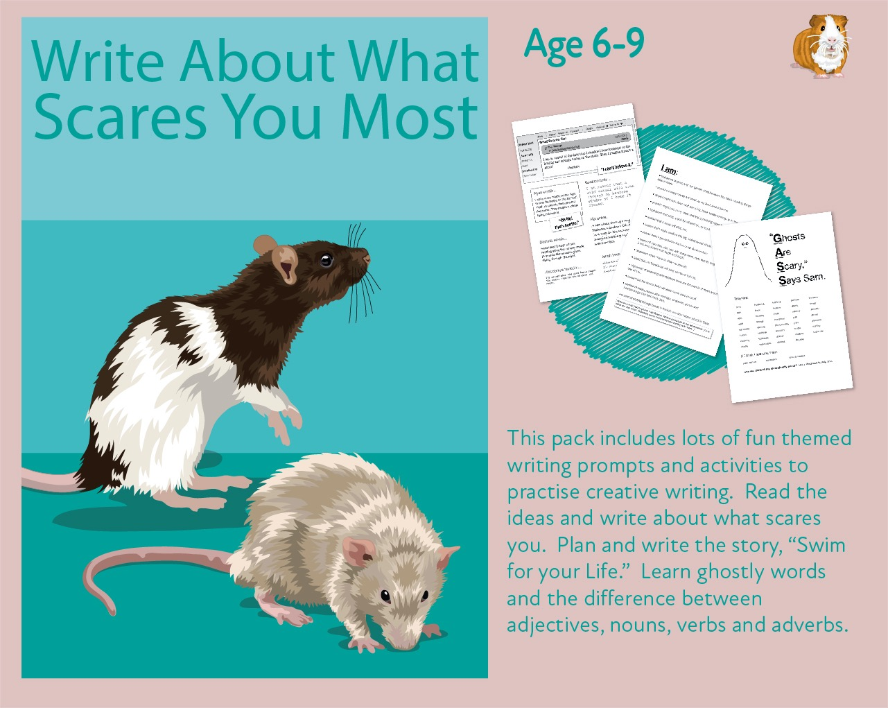 Write About What Scares You Most (7-11 years)