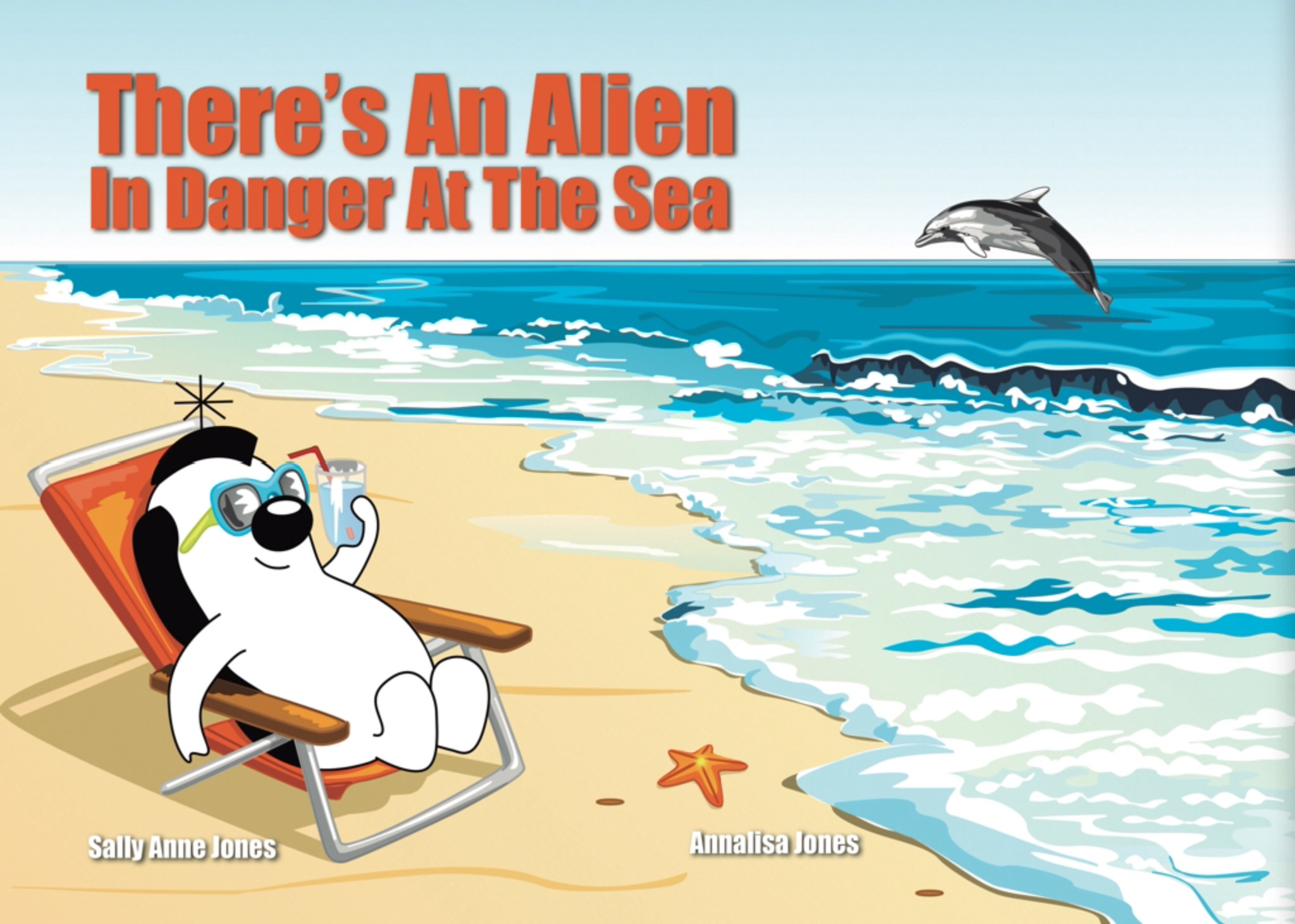 There's An Alien In Danger At The Sea E-Book