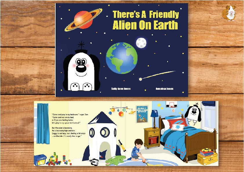 There's A Friendly Alien On Earth (Print Edition)