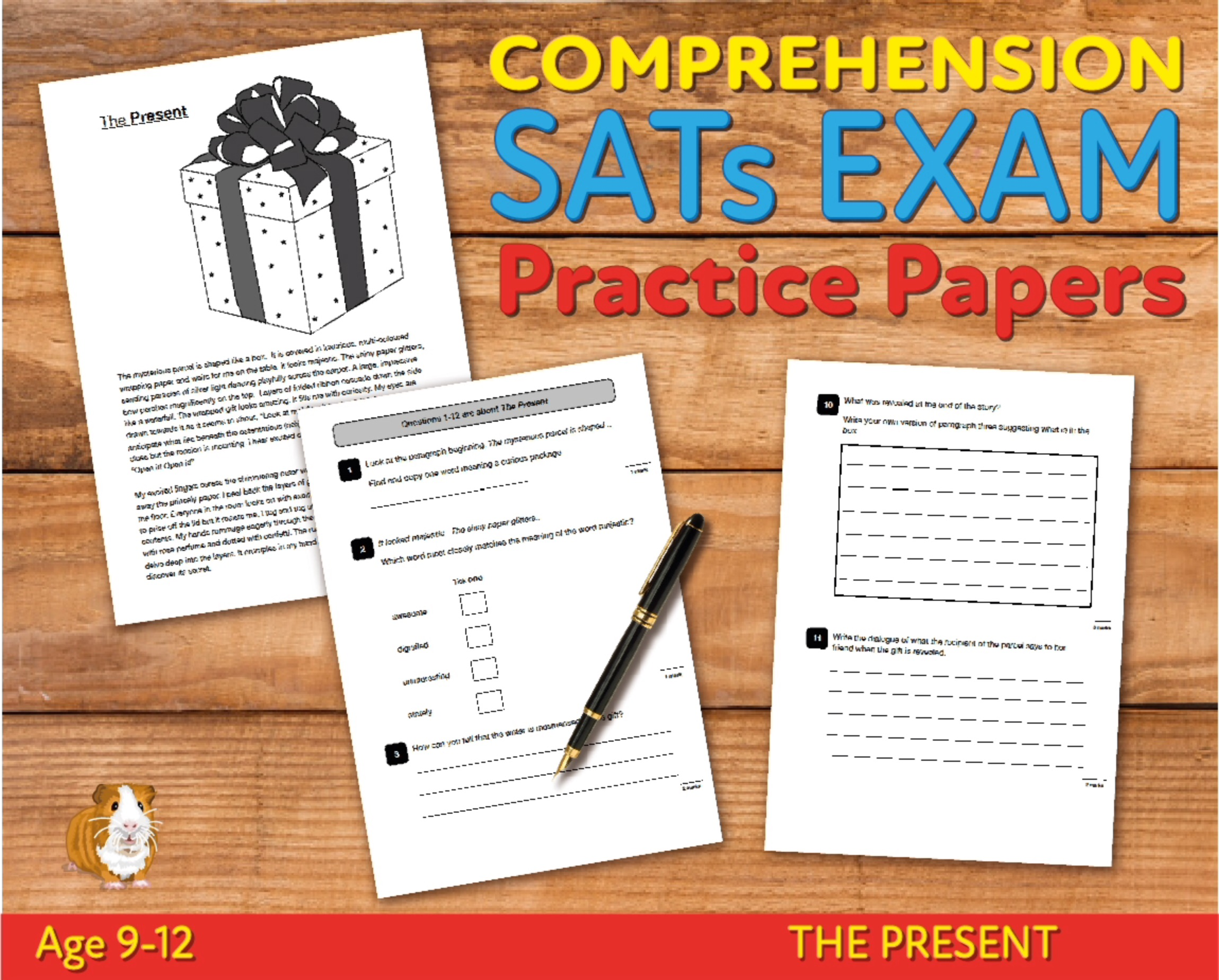 SATS Comprehension Tests (The Present) 9-12 years Digital Download