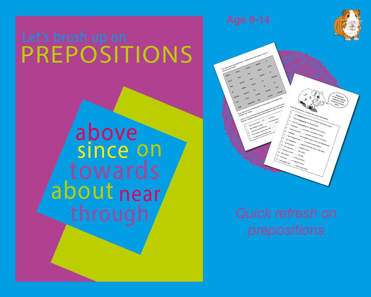 Brush Up On Using Prepositions (9-14 years)