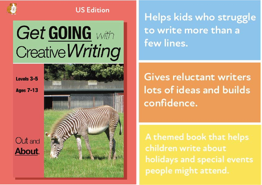 Out & About: Get Going With Creative Writing (US English Edition) Grades 2-8