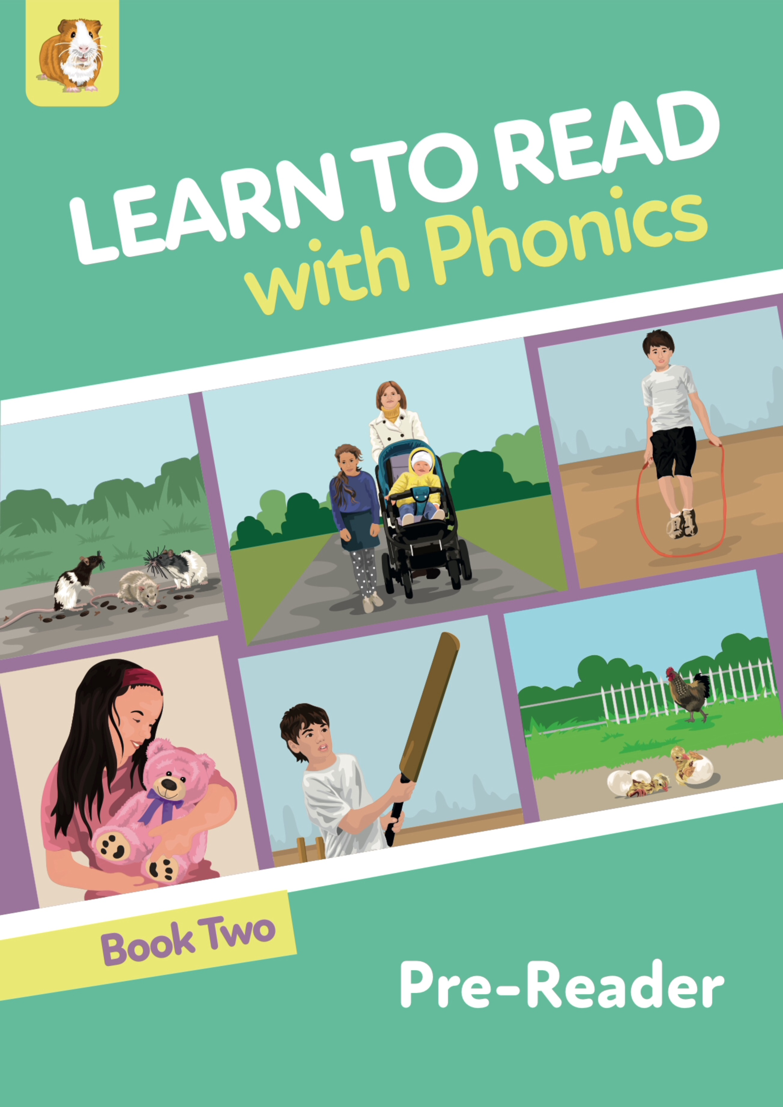 Learn To Read Rapidly With Phonics: Pre Reader Book 2: Digital Download