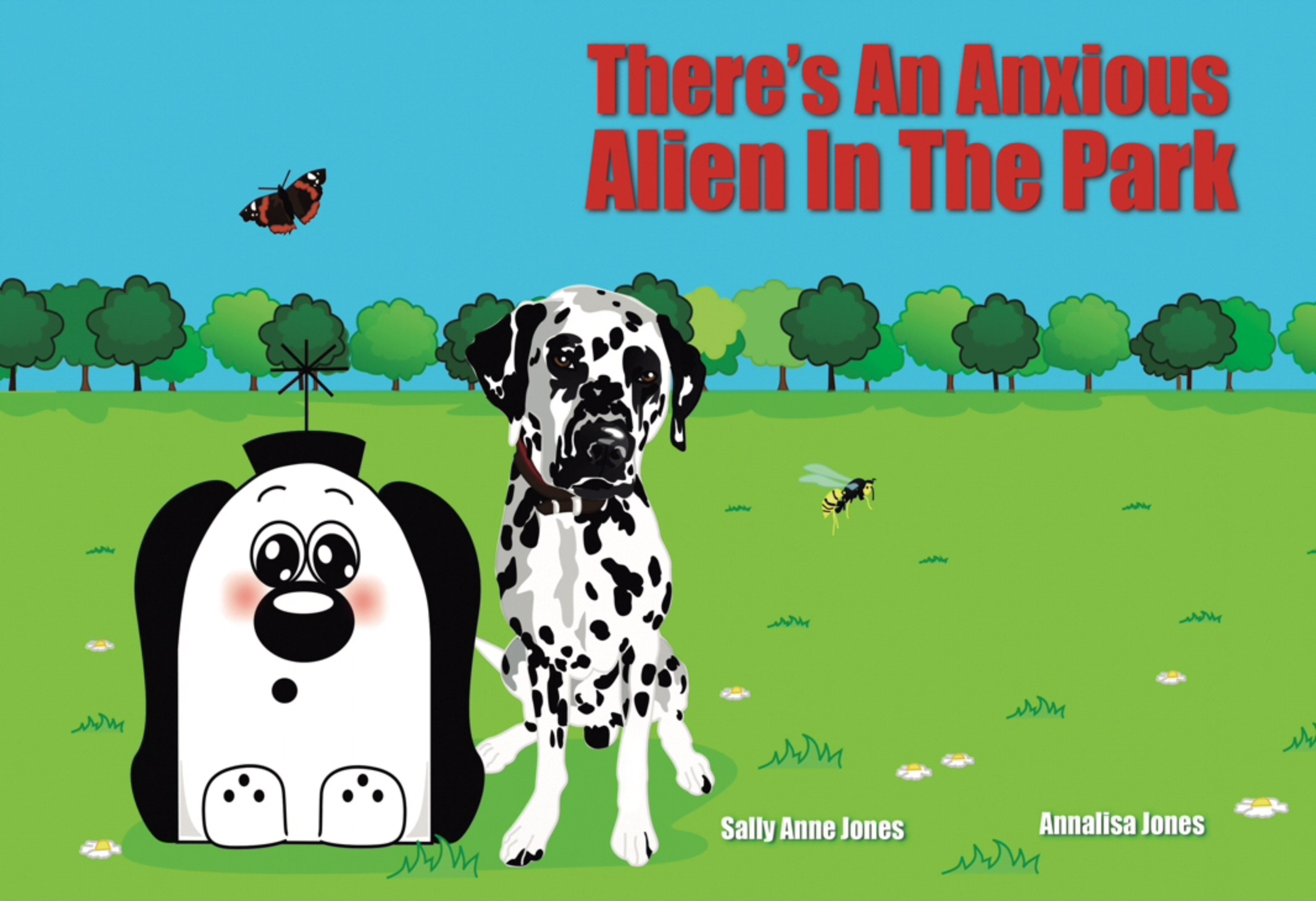 There's An Anxious Alien In The Park E-Book