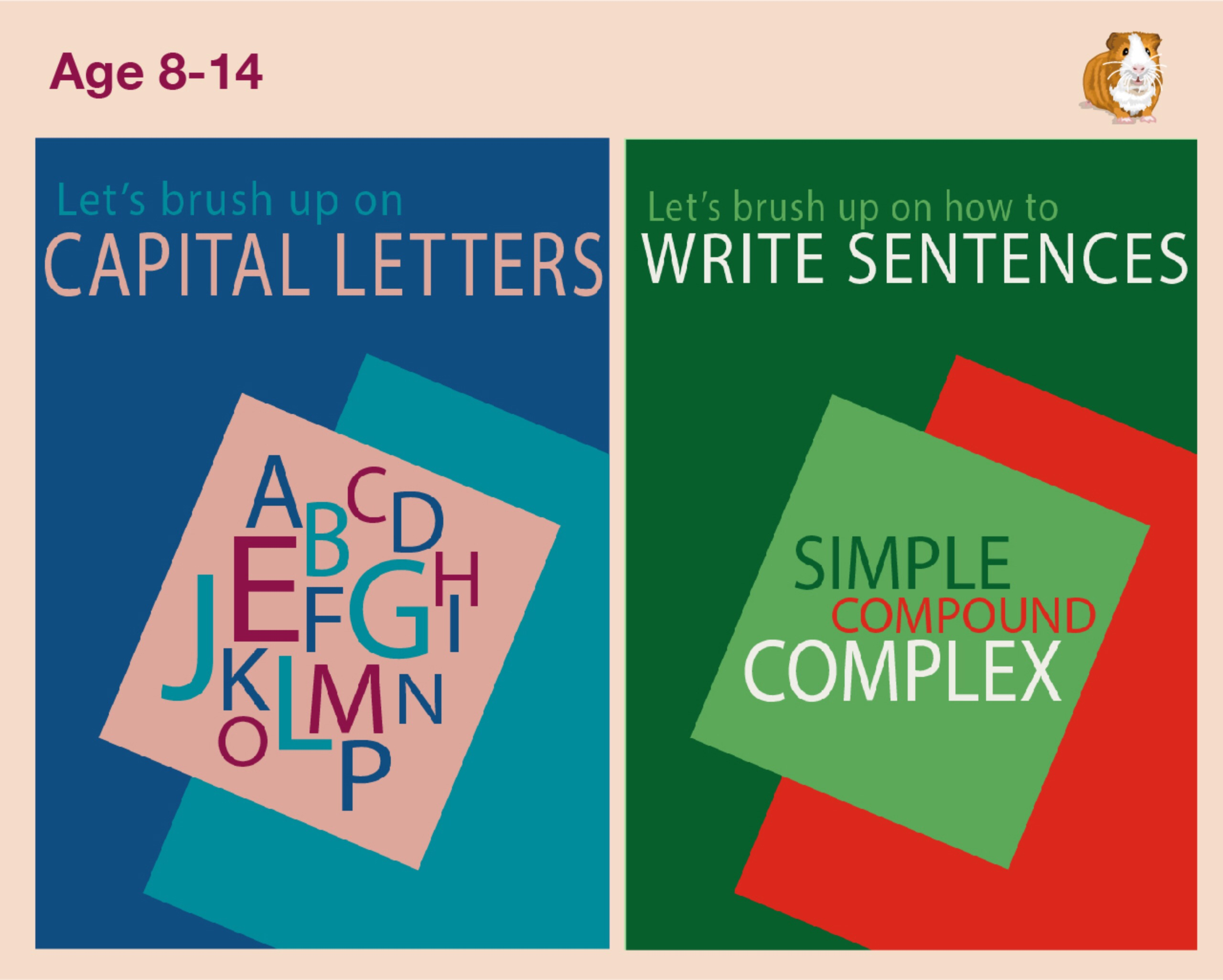 Let's Brush Up On Capital Letters And Writing Sentences (9-14 years)