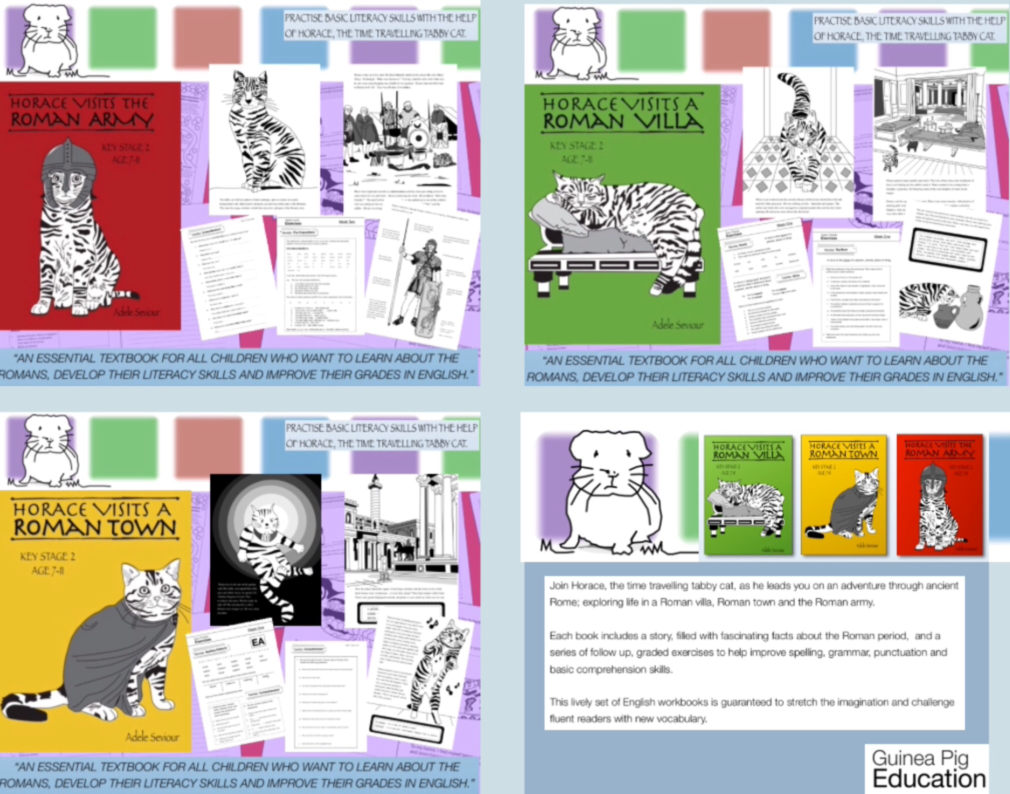 Horace Teaches English Series (Complete Series books 1-3) (7-11) Print Versions