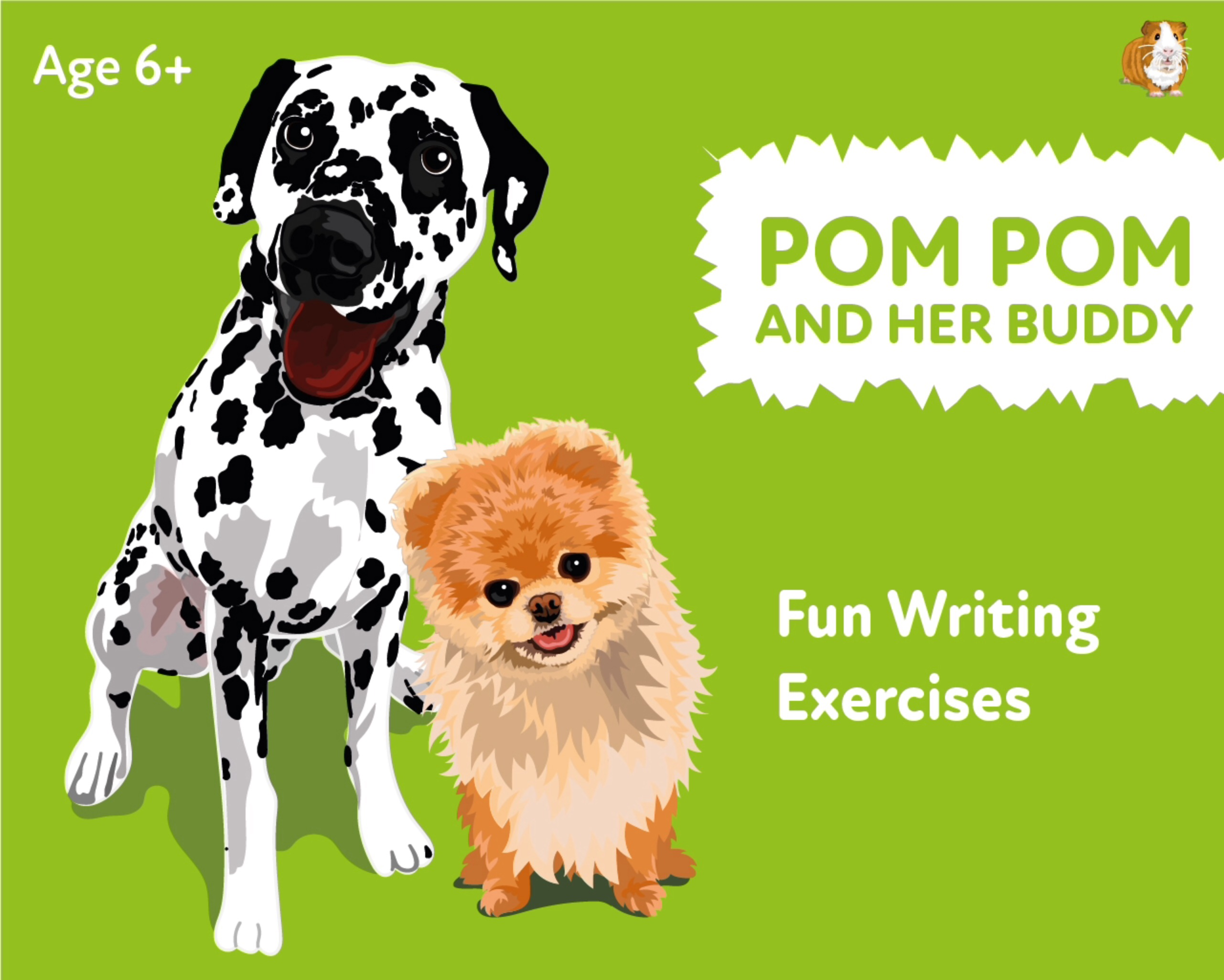 'Pom Pom And Her Buddy' A Fun Writing And Drawing Activity (6 years +)