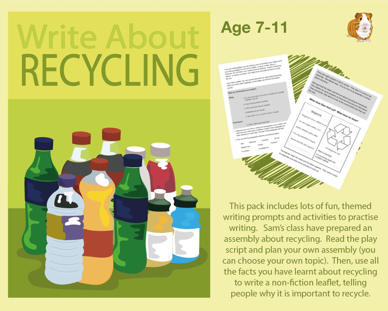 Write About Recycling (7-11 years)