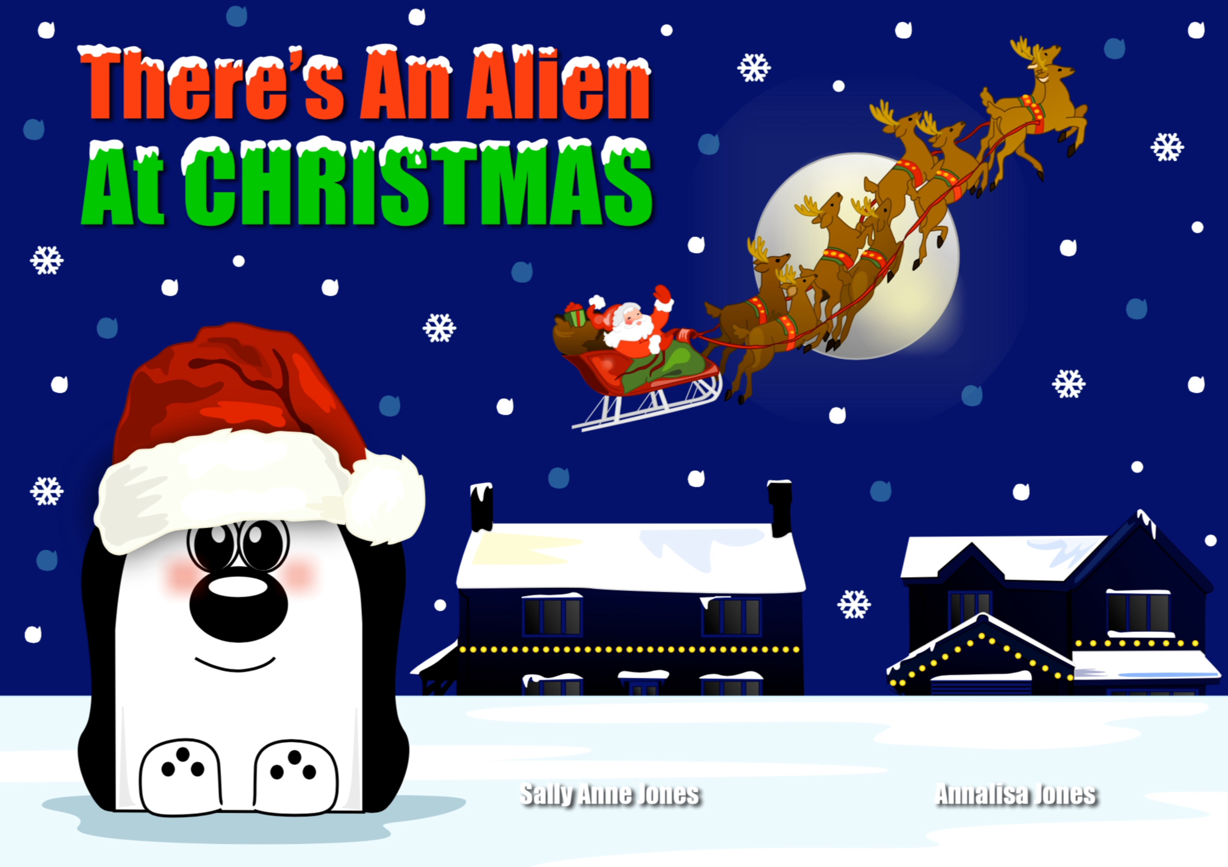 There's An Alien At Christmas E-Book