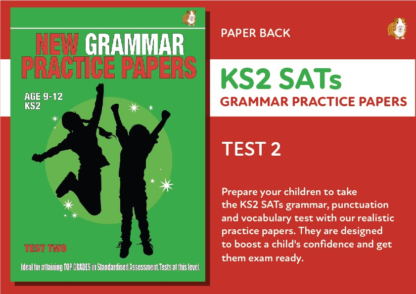 KS2 SATS Grammar, Punctuation and Vocabulary Practice Papers: Test Two (Print Edition)