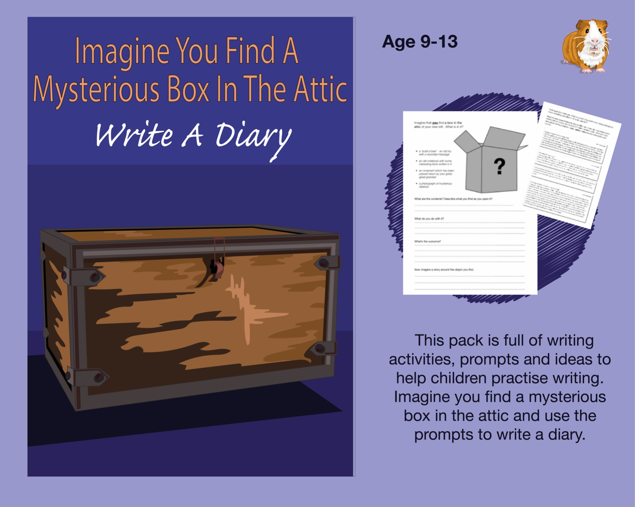 Imagine You Find A Mysterious Box In the Attic: Write A Diary (SATS And 11+ Essential Writing...)