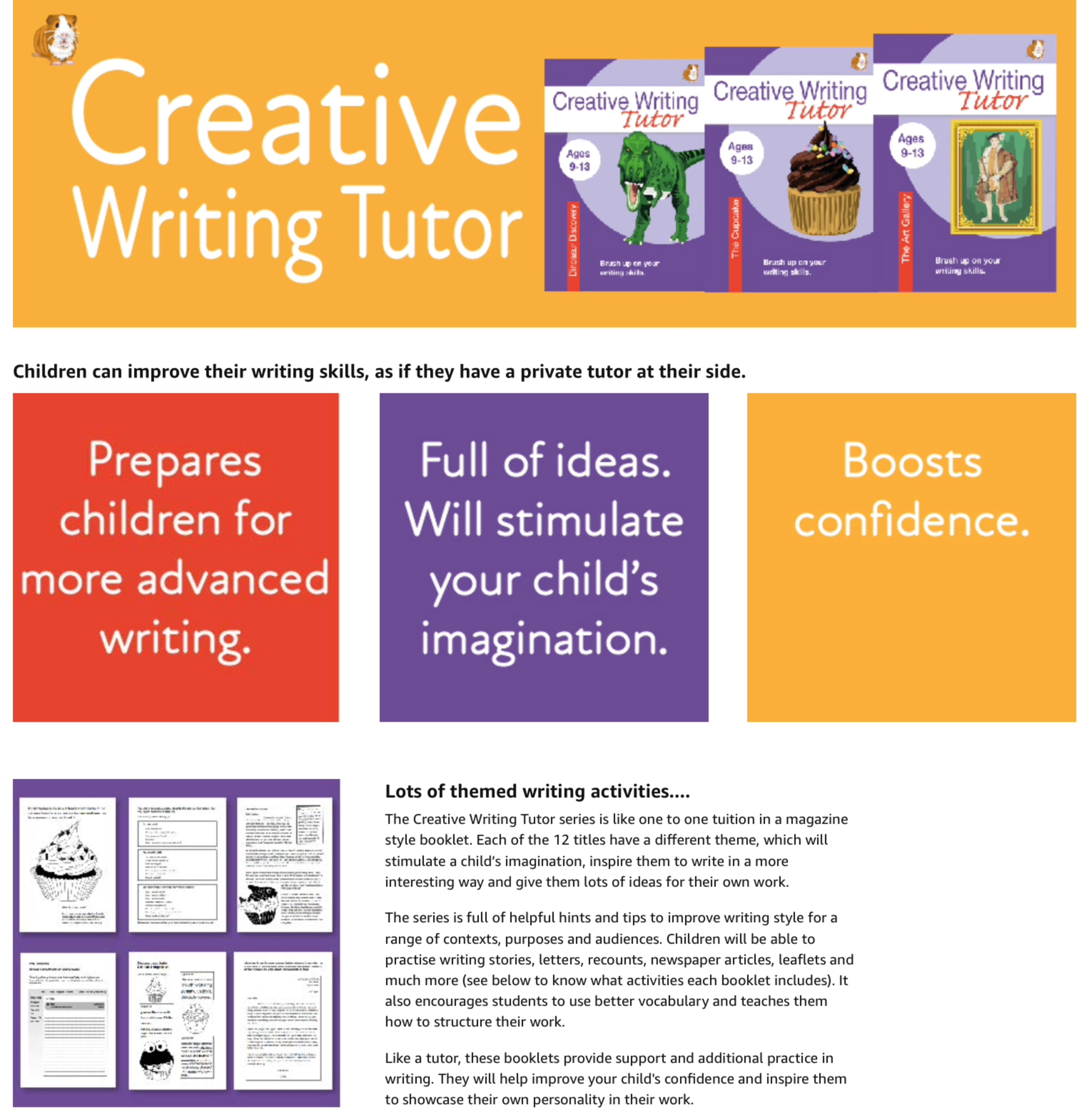 The Space Age Bag: Brush Up On Your Writing Skills (Creative Writing Tutor) (ages 9-13 years)
