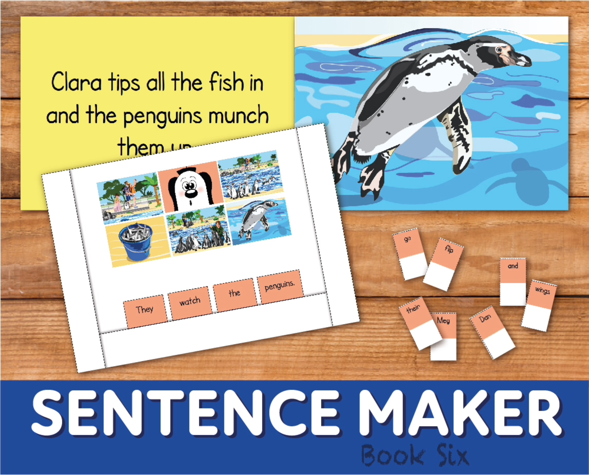 Make Sentences With The Sentence Maker: Book 6