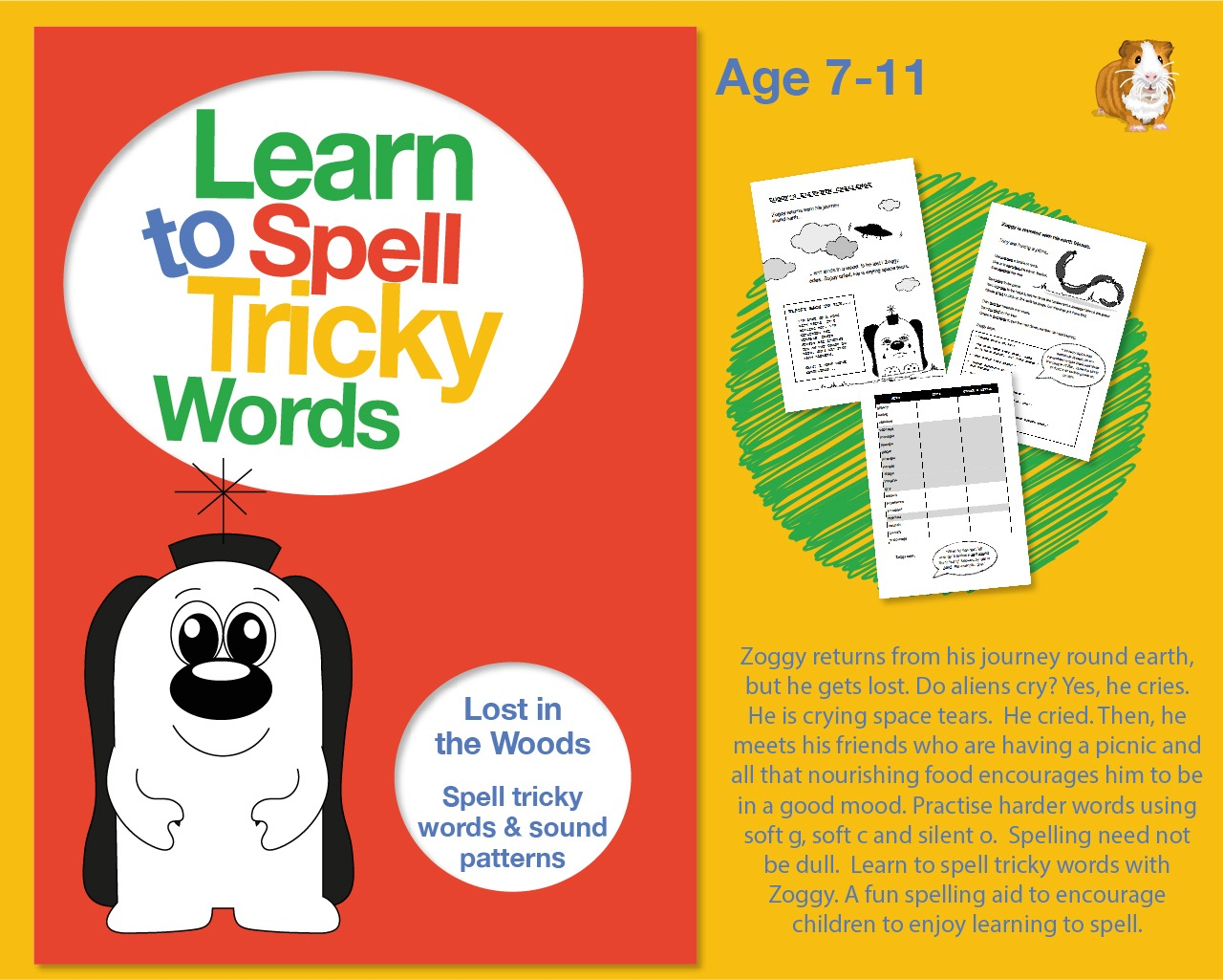 Lost In The Woods: Learn To Spell Tricky Words And Sound Patterns, such as, 'ies', 'ied' and 'ing'