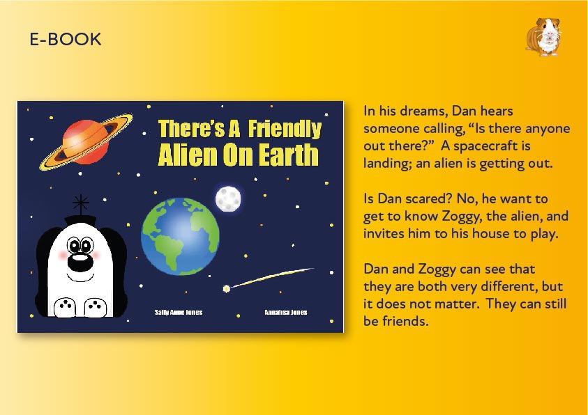 There's A Friendly Alien On Earth E-Book