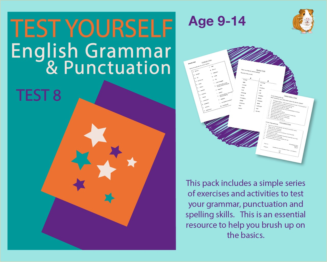 Assessment Test 8 (Test Your English Grammar And Punctuation Skills) 9-14 years