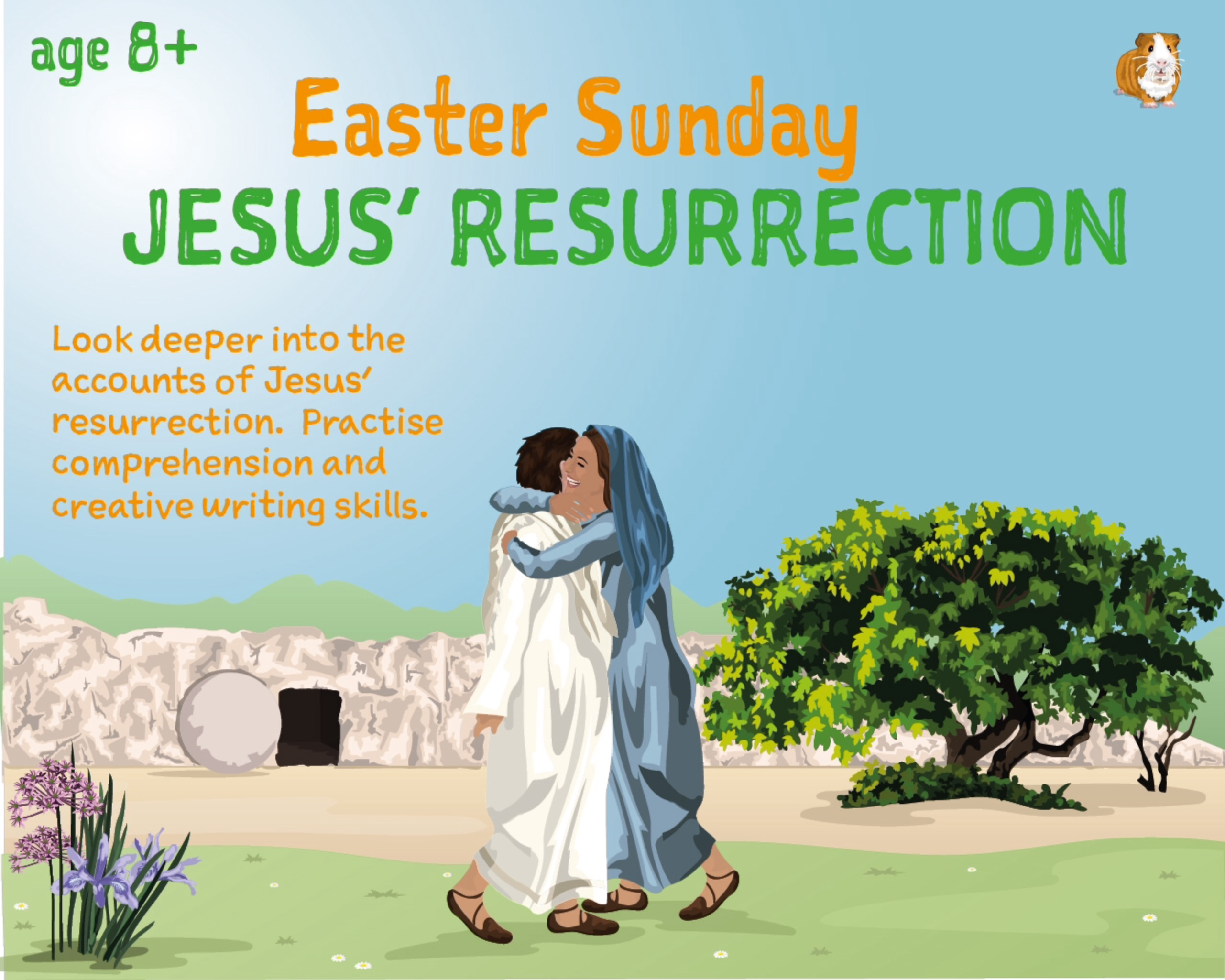 Easter Sunday: Jesus' Resurrection Easter Writing Pack (8-12 years)