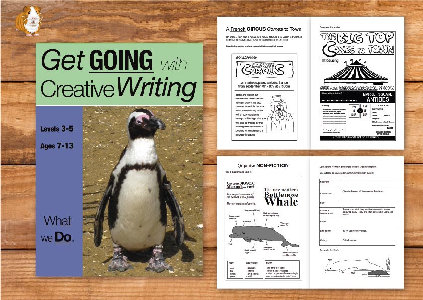 What We Do: Get Going With Creative Writing (and other forms of writing) (7-11) Print Version