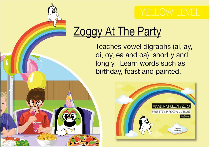 Zoggy At The Party (E-book)