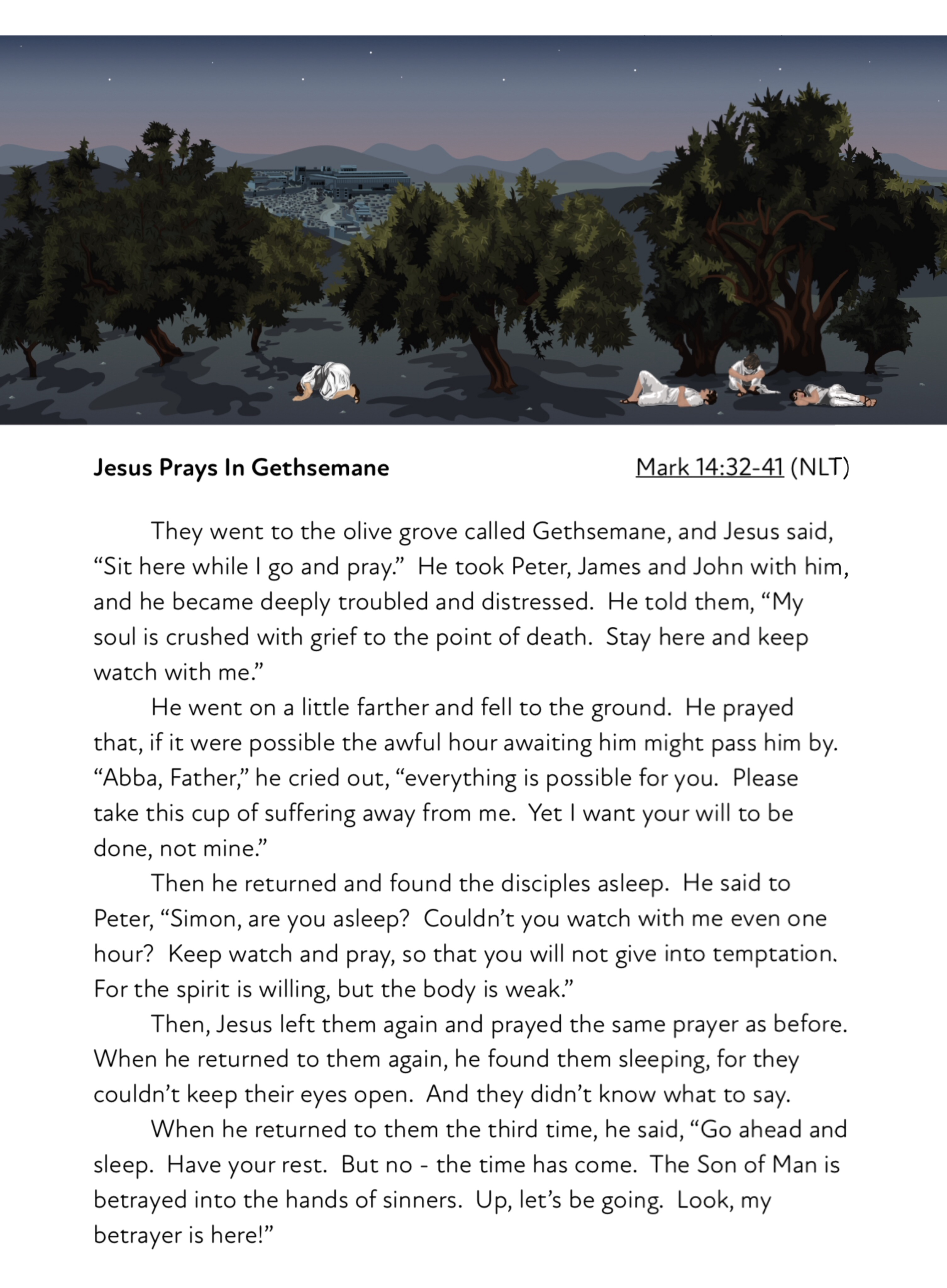 Maundy Thursday: The Garden Of Gethsemane Easter Activity Pack (8-12 years)