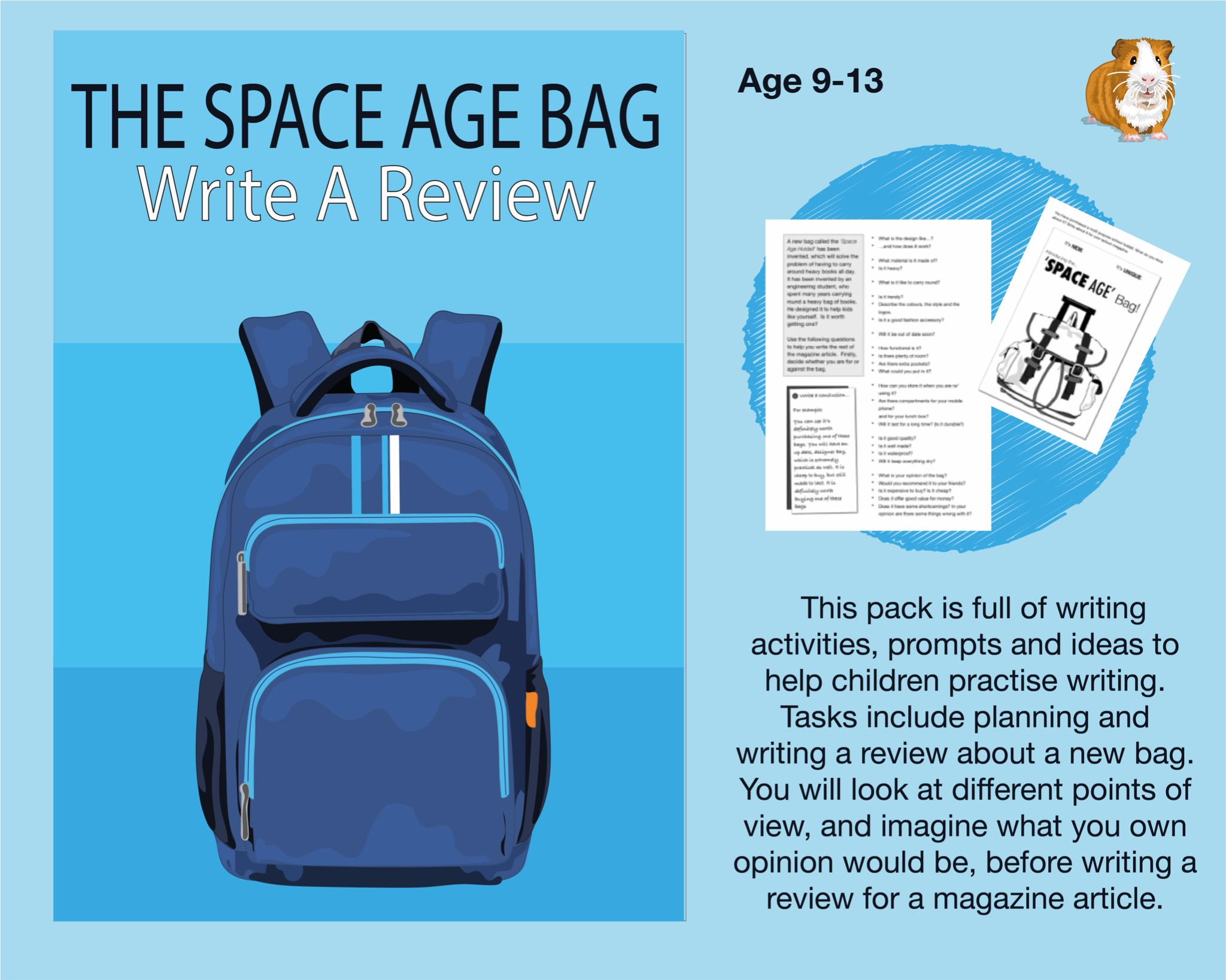 The Space Age Bag: Write A Review (SATS And 11+ Essential Writing Practice) (9-13 years)