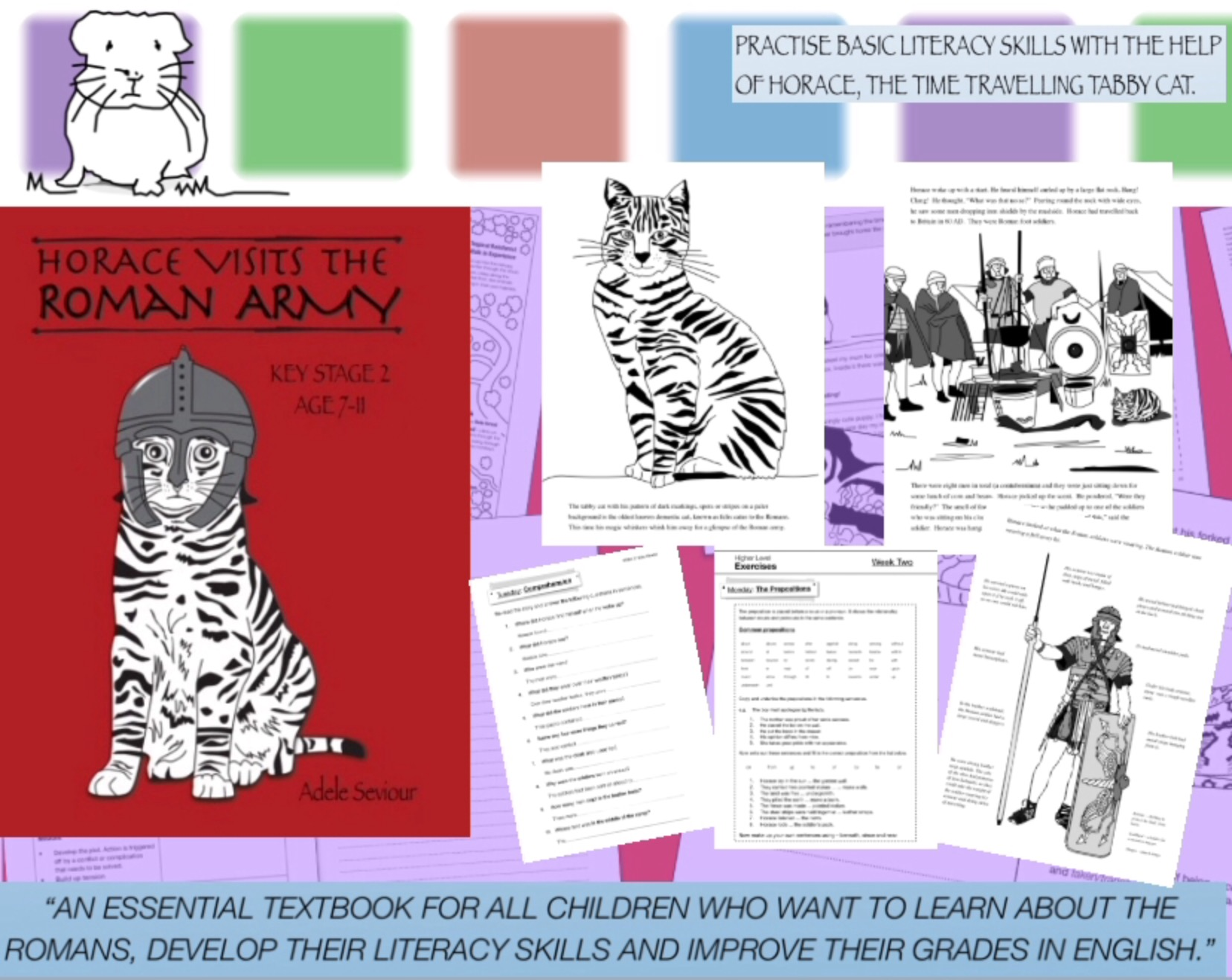 Horace Visits The Roman Army (7-11 years) Print Version