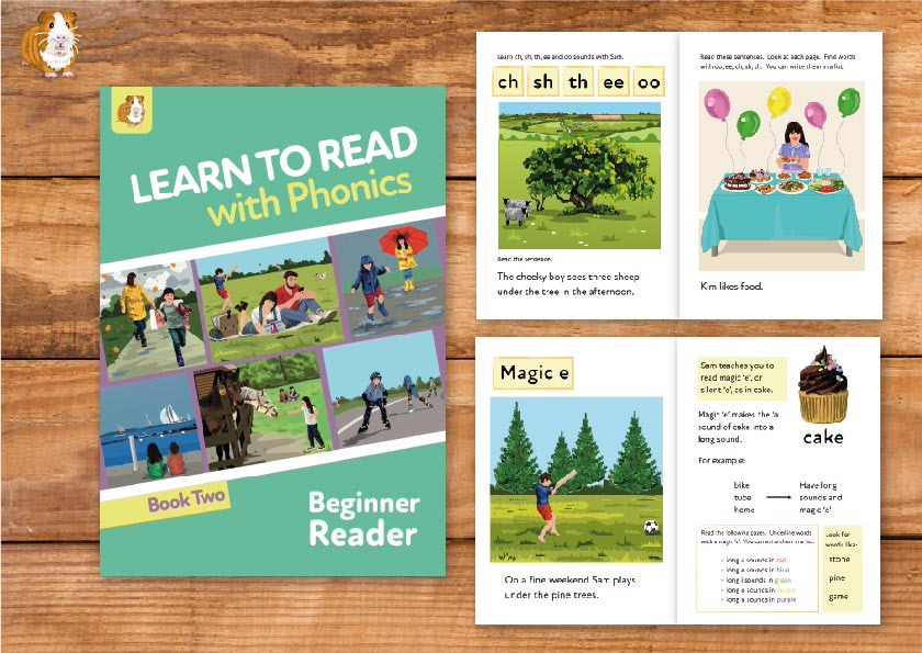 4. Learn to Read With Phonics | Beginner Reader Book 2 | Print Book