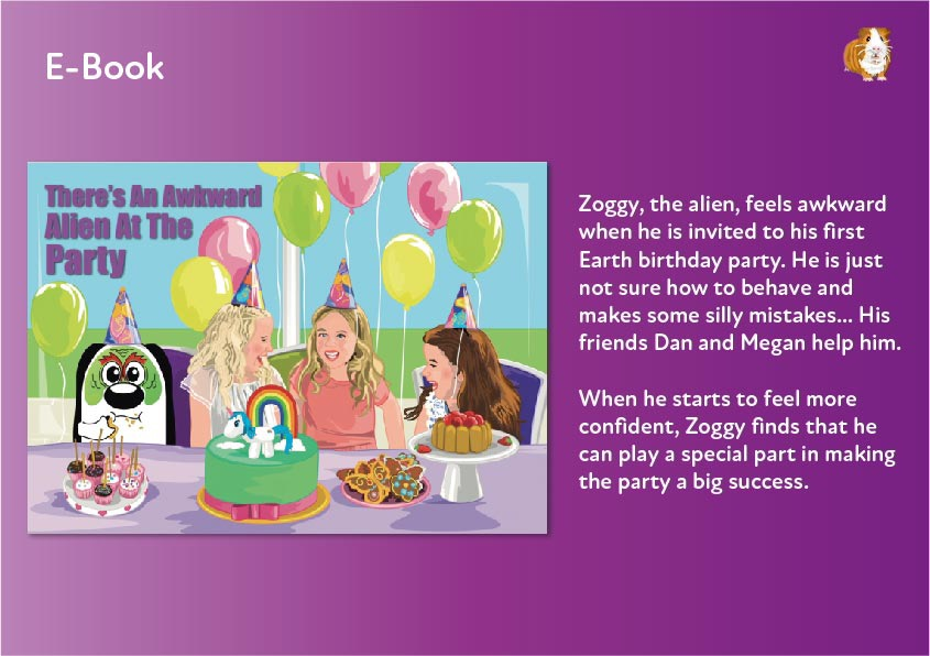 There's An Awkward Alien At The Party E-Book