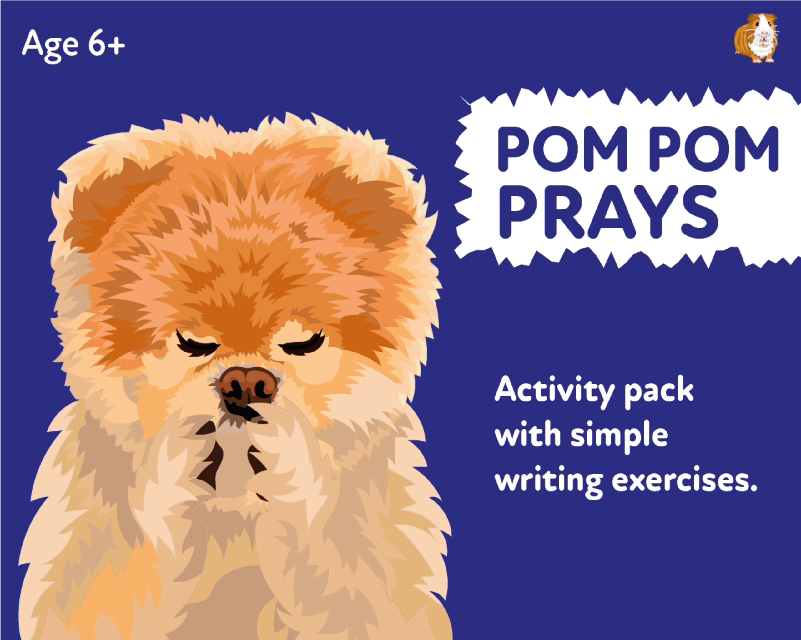 'Pom Pom Prays' A Fun Writing And Drawing Activity (6 years +)
