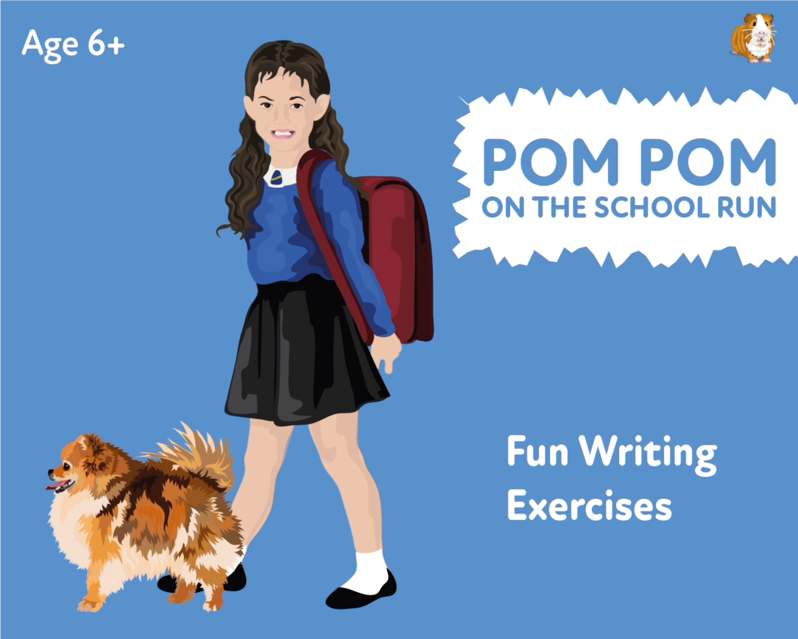 'Pom Pom On The School Run' A Fun Writing And Drawing Activity (6 years +)