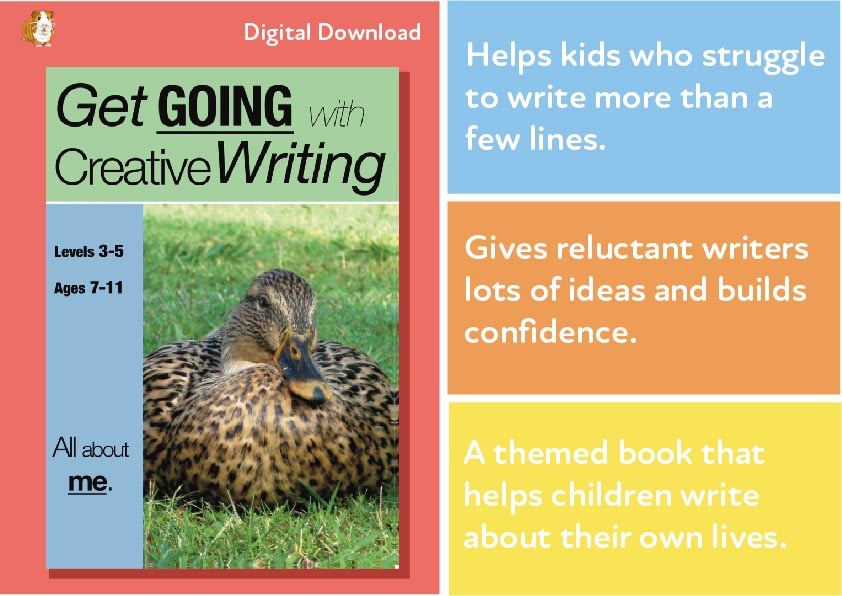 All About Me: Get Going With Creative Writing (and other forms of writing) (7-11) Digital Download