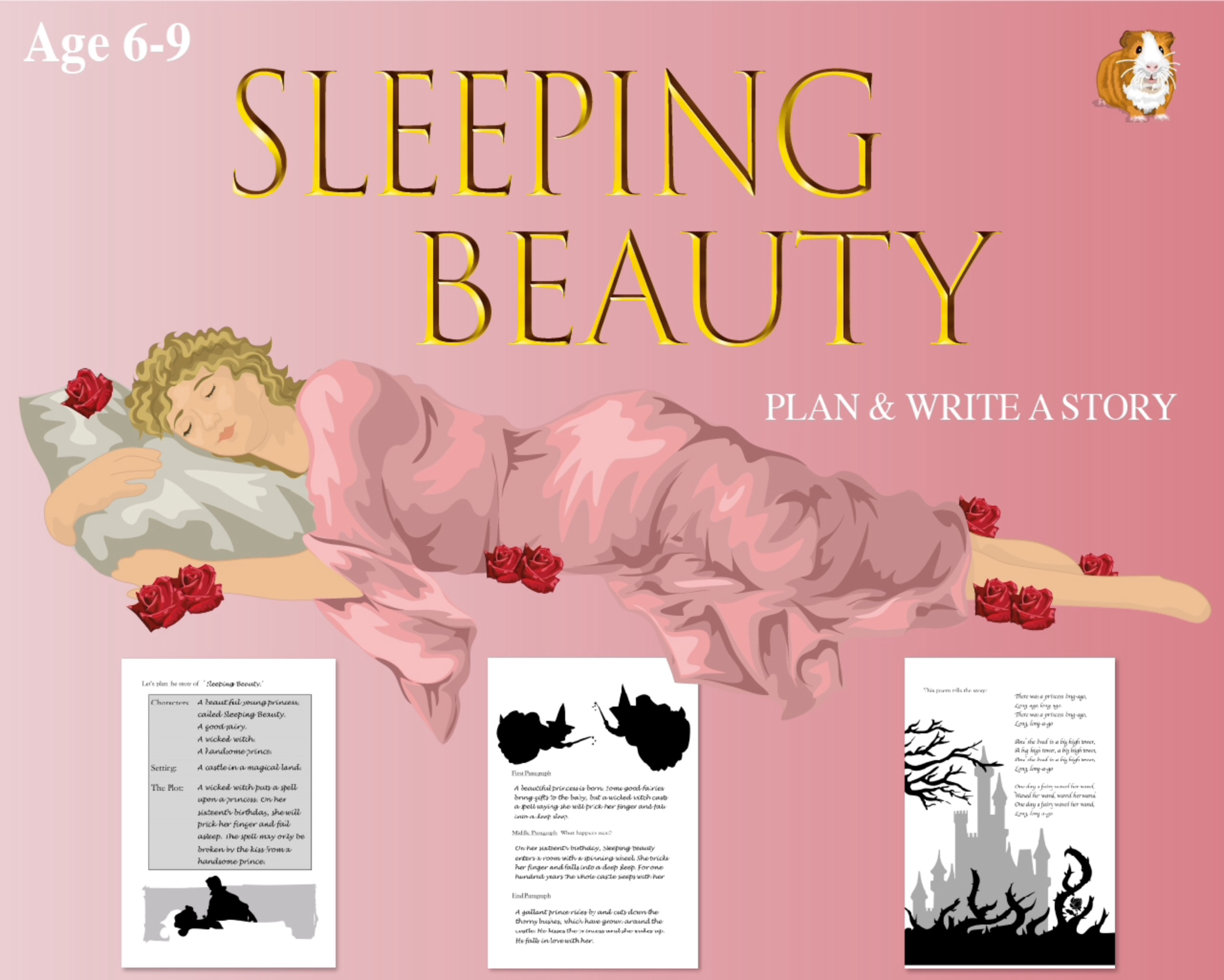 Plan And Write The Story Of Sleeping Beauty'  (6-9 years)