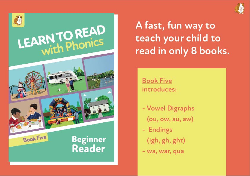 7. Learn To Read With Phonics | Beginner Reader Book 5 | Digital Download