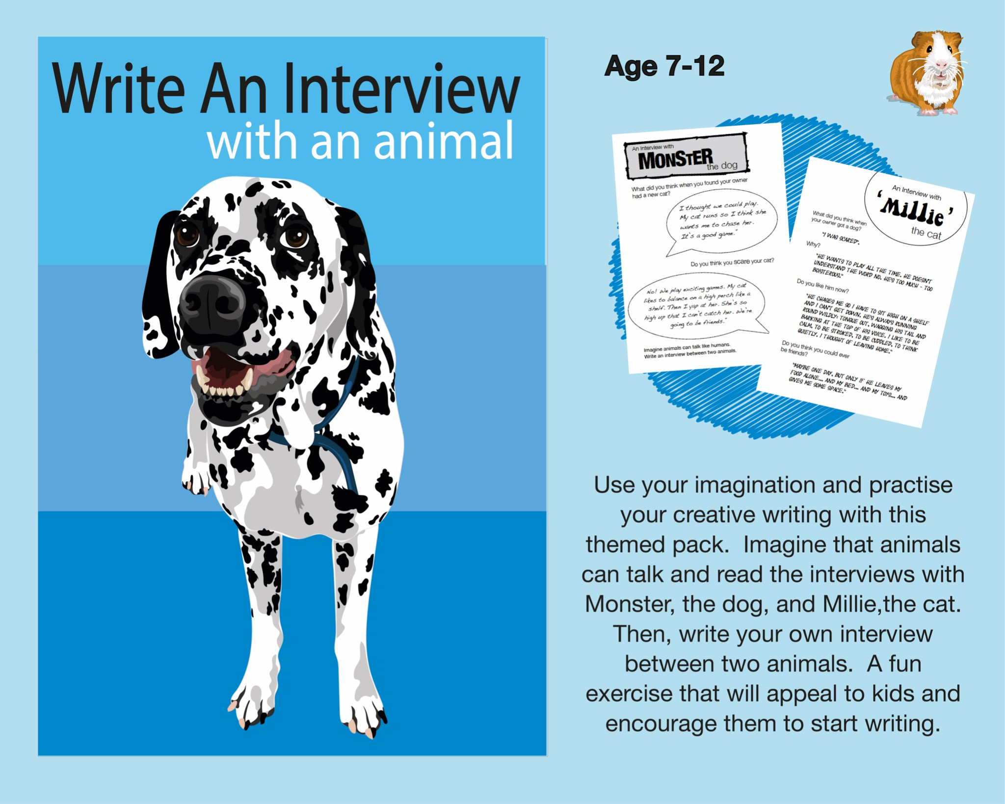 Write An Imaginary Interview With An Animal (7-12 years)