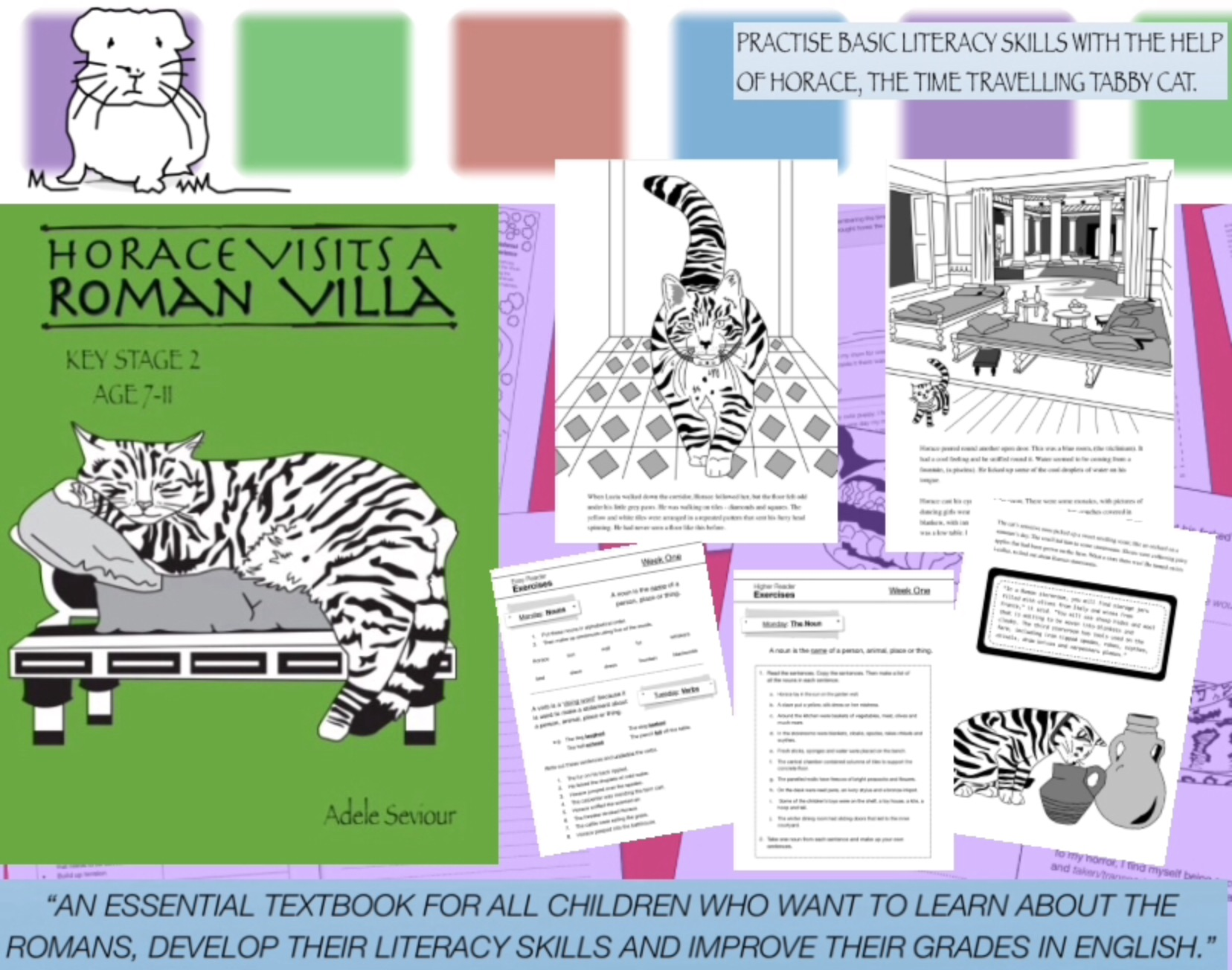 Horace Visits A Roman Villa (age 7-11 years) Digital Download