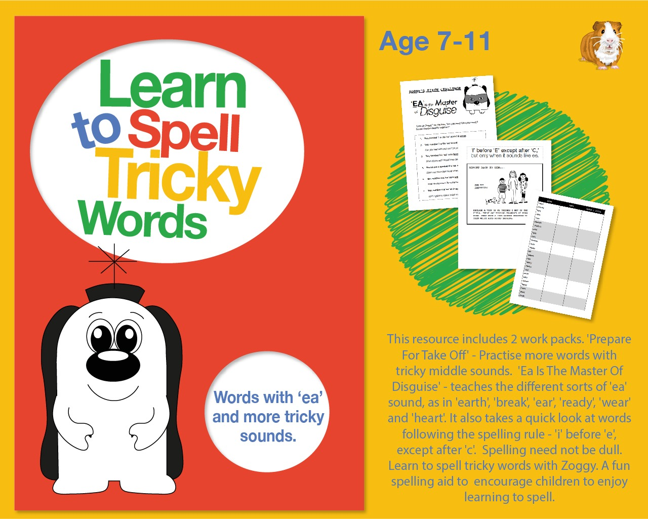 Learn To Spell Words With 'ea' And More Tricky Middle Sounds 7-11 years