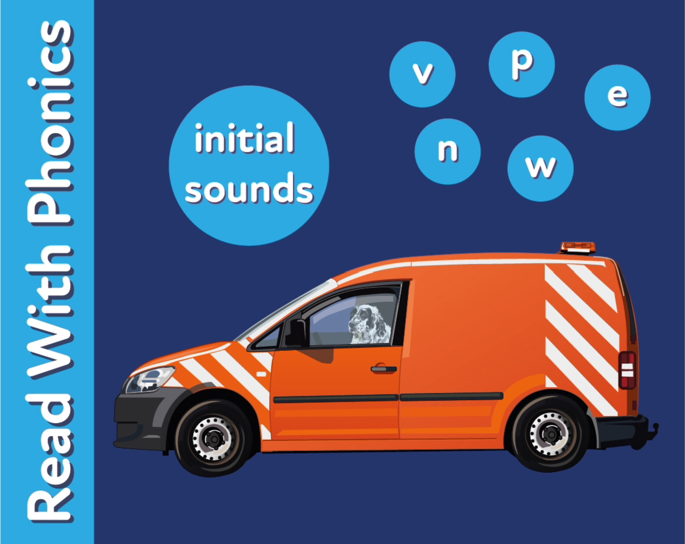 Learn The Initial Phonic Sounds 'v, n, p, w, e' (3 +)