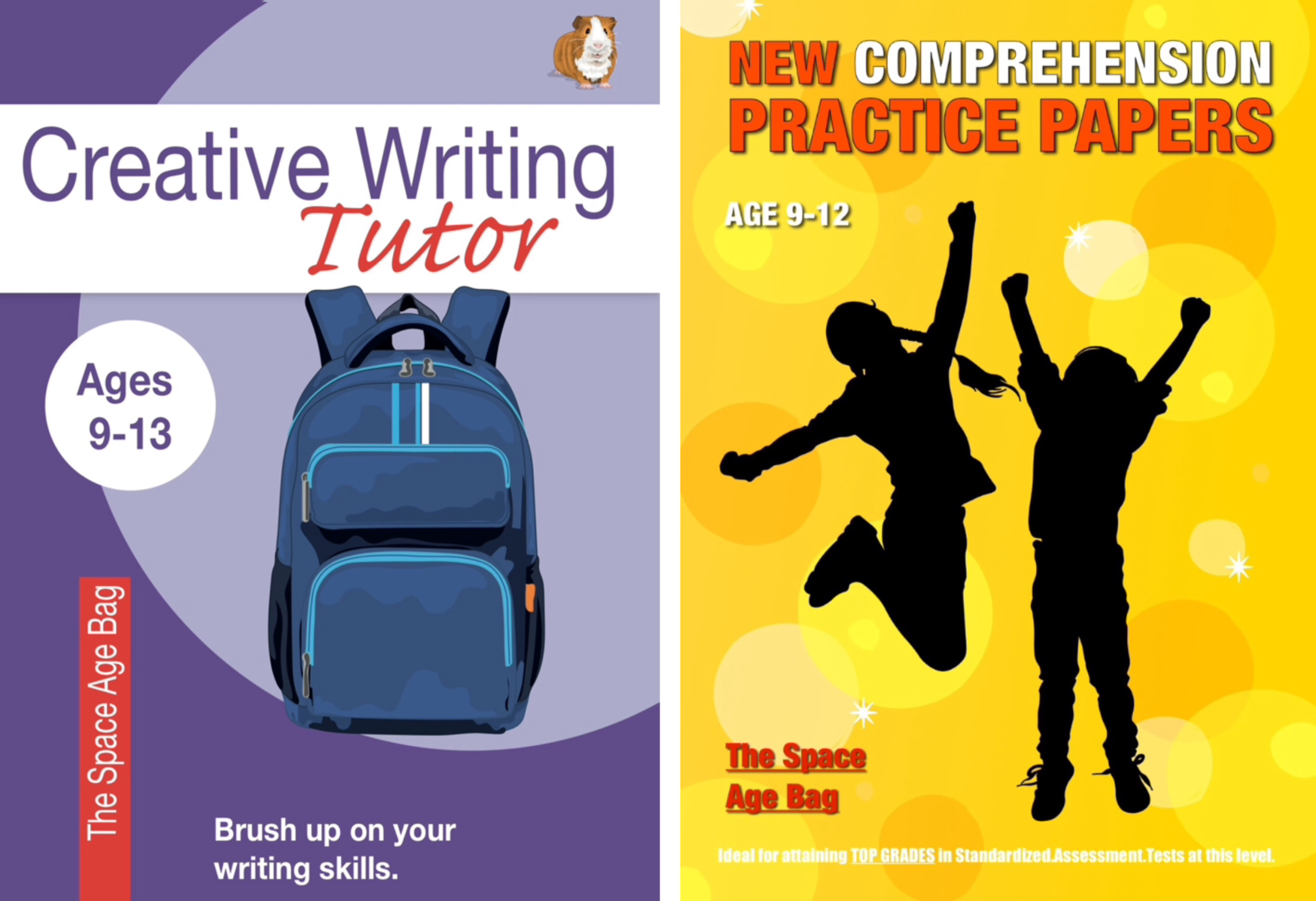 Highly Recommended: Learn Comprehension Skills 'The Space Age Bag' 9-12 years