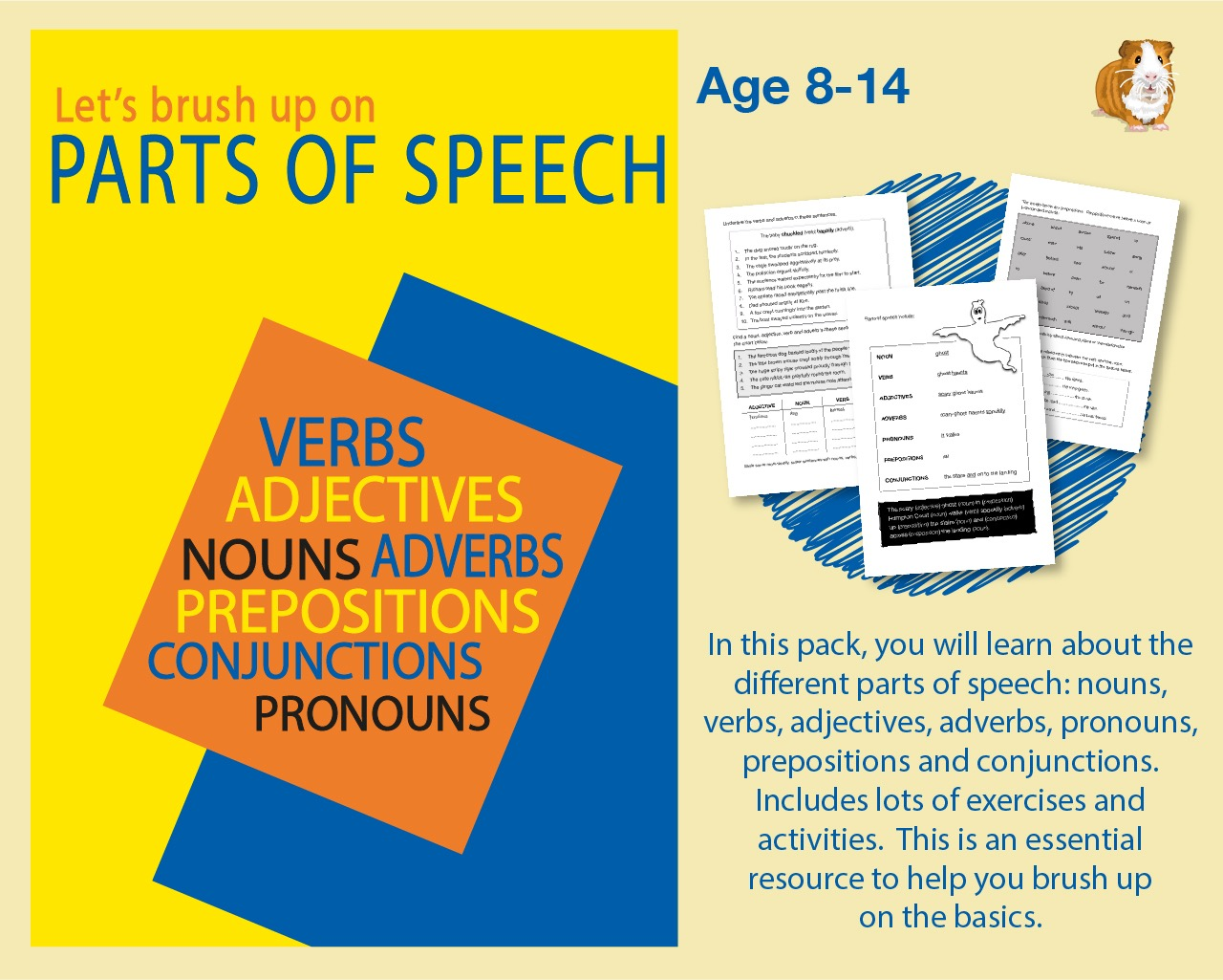 Brush Up On Parts Of Speech (9-14 years)