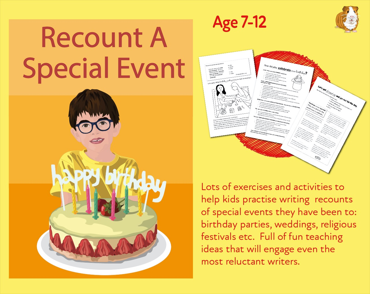 Recount A Personal Experience And Recount A Special Event (7-11 years)