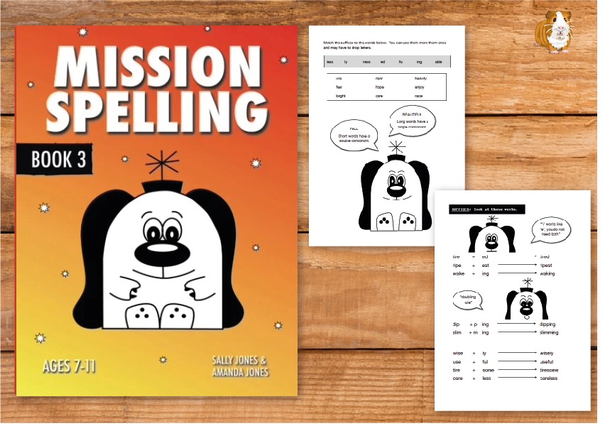 Mission Spelling Book 3: A Crash Course To Succeed In Spelling With Phonics (7-11) Print Version