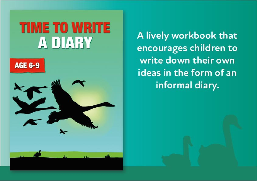 Time To Write A Diary (6-9 years) Digital Download