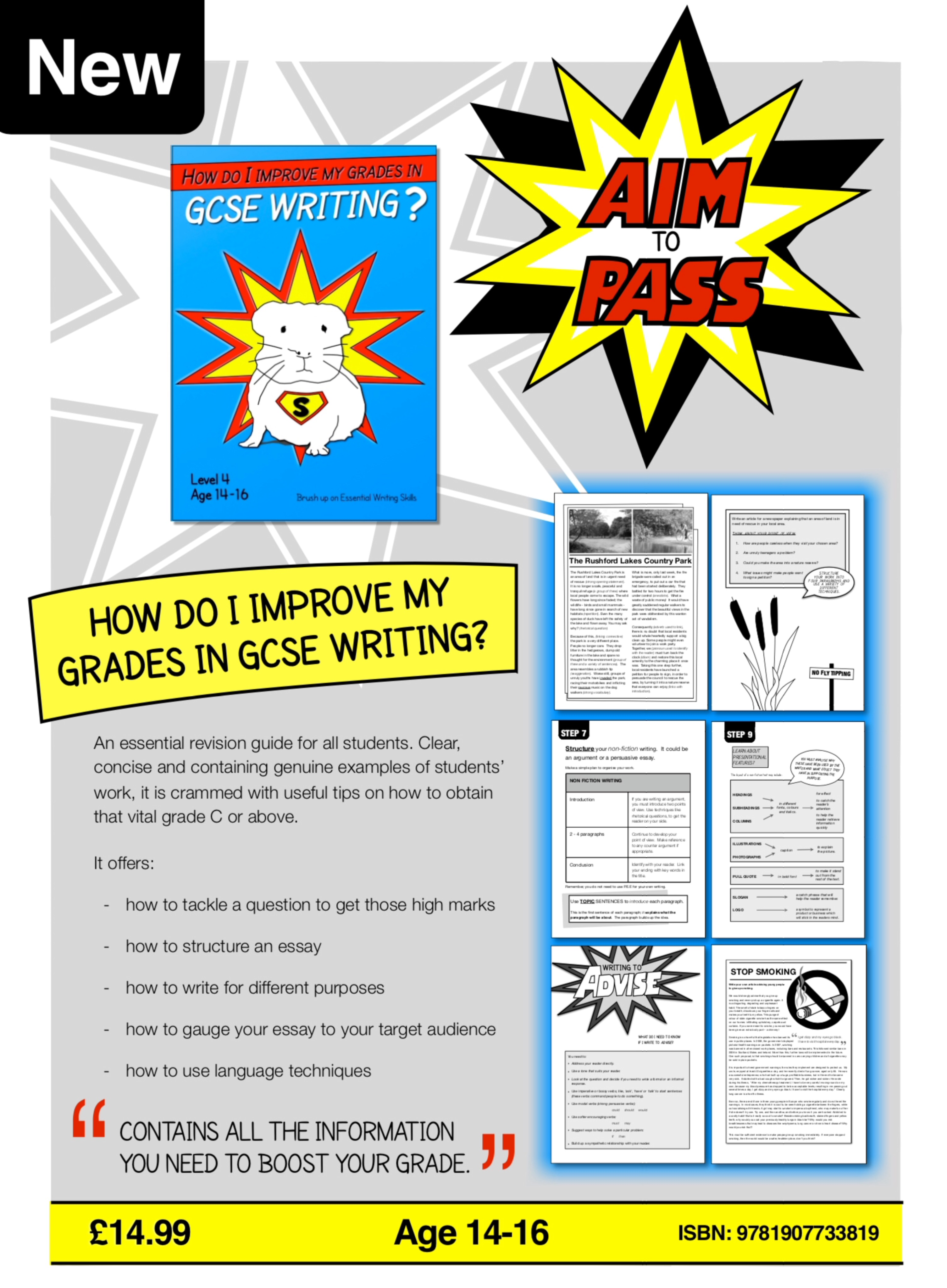 How Do I Improve My Grades In GCSE English? (Digital Download)