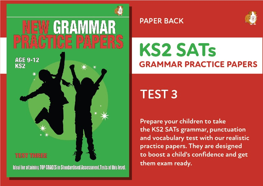 KS2 SATs Grammar, Punctuation and Vocabulary Practice Papers - Test 3 (Print Edition)